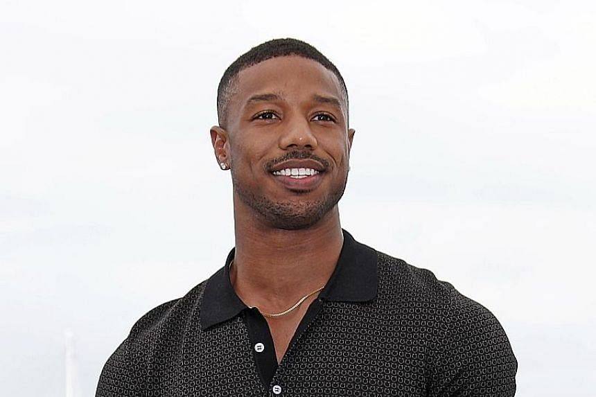 """Actor Michael B. Jordan is the third black man to be named People magazine's """"sexiest man alive""""."""