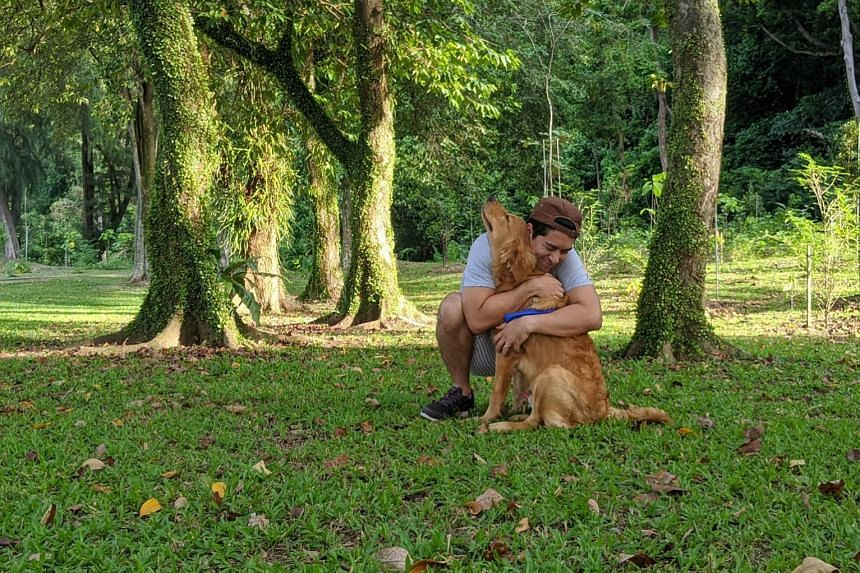 Kiss 92FM radio presenter Divian Nair takes his dog Django for long walks to explore new trails on weekends when he and his wife have some hours to spare.