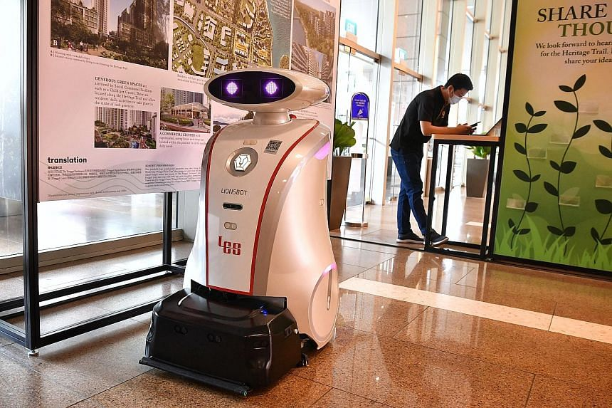 Visitors were tested for Covid-19 on the spot before they were allowed into the Singapore International Energy Week conference, which was held at Sands Expo and Convention Centre last month. The Alliance for Action for smart commerce is looking into
