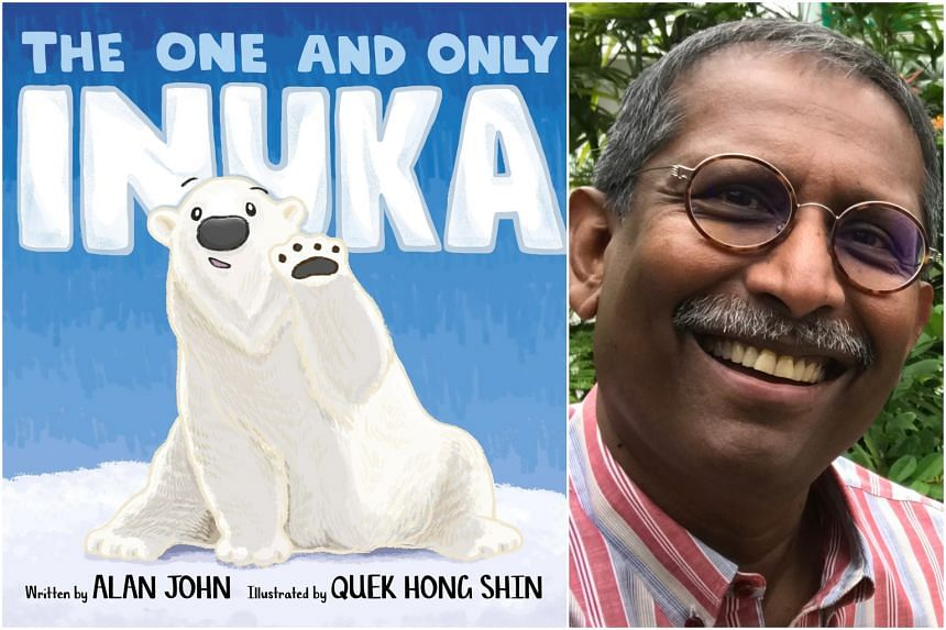 Mr Alan John published his first children's book, The One And Only Inuka, in 2018. It is an homage to Singapore's only local-born and much-loved polar bear.