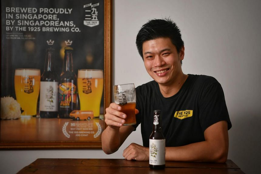 Brothers Yeo Eng Kuang (pictured) and Ivan Yeo named their business The 1925 Brewing Co as 1925 was the birth year of the family patriarch Yeo Kim Ho.