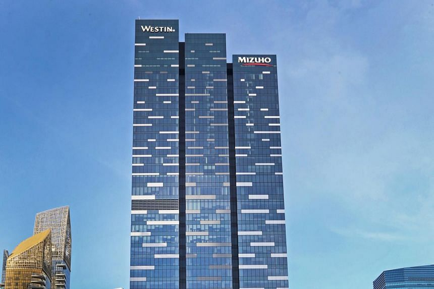 Mizuho Financial Group is looking to cut about 16 per cent of space at Asia Square Tower 2.