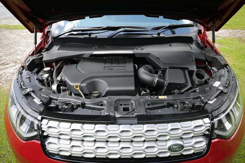 The Land Rover Discovery Sport has been detuned to produce 200hp for better efficiency and emission.