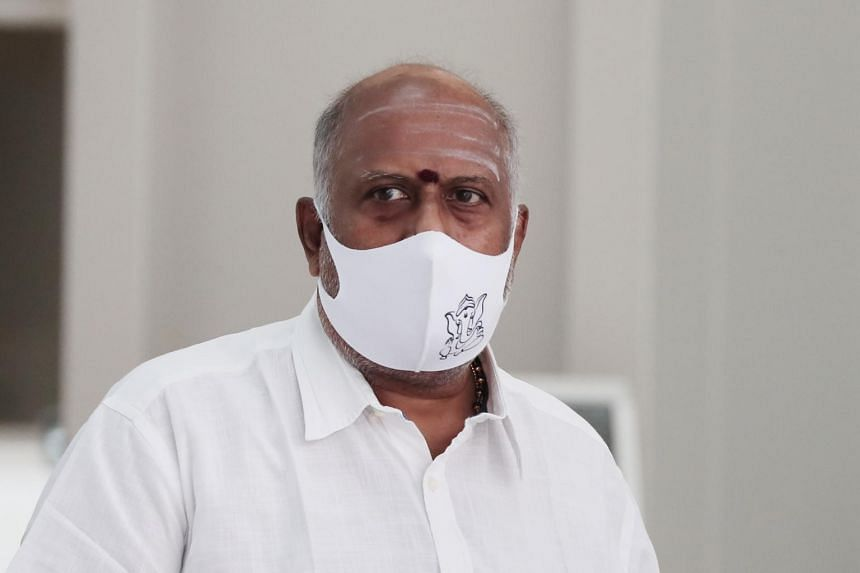 After his conviction in 2017, Ratha Krishnan Selvakumar continued to act as the temple's secretary.