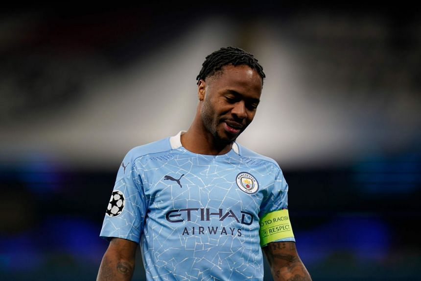 Sterling (above) withdrew from the England squad with an injury niggle which Southgate would not elaborate on.