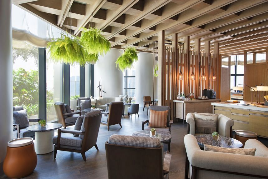 The Sunroom at Andaz Singapore.