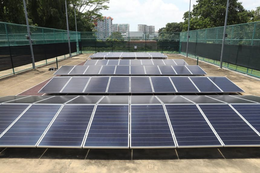 Solar energy is an emerging technology that may help Singapore reduce its fossil fuel reliance.