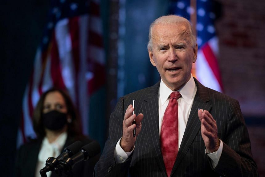 US President-elect Joe Biden said he has not ruled out legal action to force the hand of the General Services Administration.