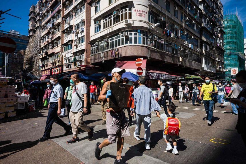 Hong Kong had more than 30 preliminary positive cases on Nov 20.