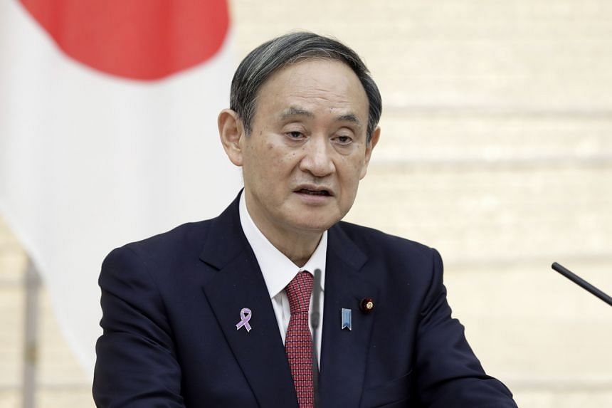Japanese Prime Minister Yoshihide Suga made the comment in a pre-recorded video message delivered at the Apec CEO Dialogues.