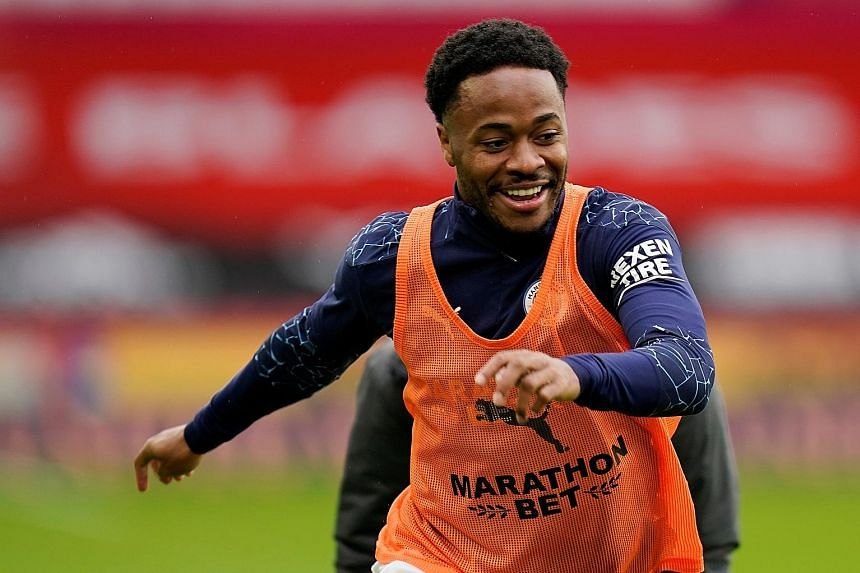 Spurs manager Jose Mourinho has predicted that Manchester City forward Raheem Sterling will feature against his team in the Premier League today despite missing England's 4-0 win over Iceland on Wednesday with injury.