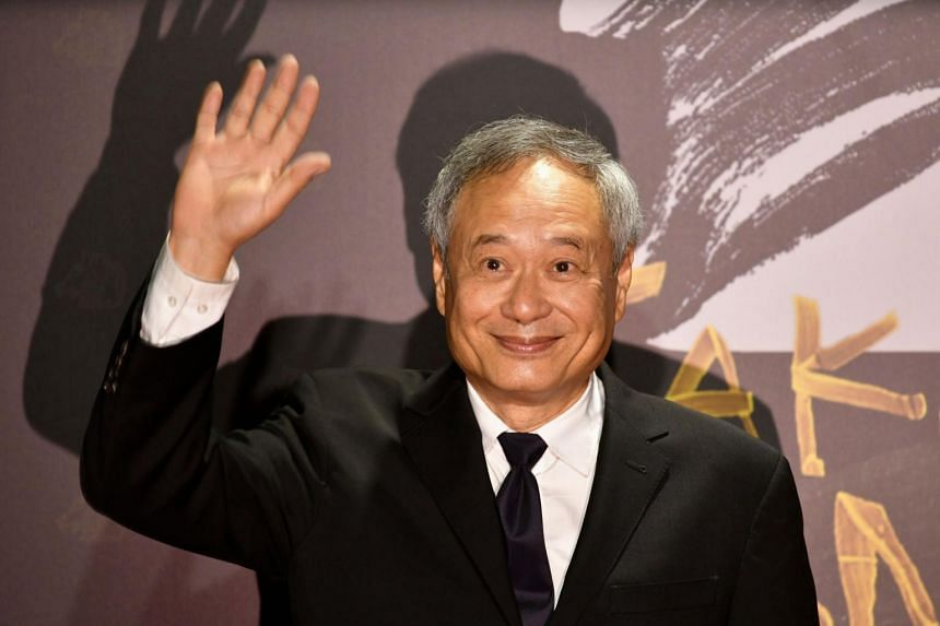 Taiwanese director Ang Lee arrives on the red carpet at the 57th Golden Horse film awards in Taipei, on Nov 21, 2020.