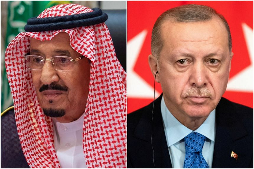 Turkey's Erdogan, Saudi king agree to solve issues through dialogue -Turkish presidency