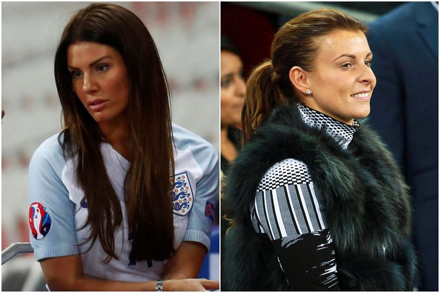 Rebekah Vardy (left) and Coleen Rooney have locked horns over accusations about the leaking of private details to The Sun newspaper.