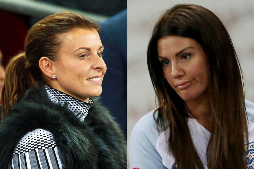 "Coleen Rooney (left) and Rebekah Vardy have been embroiled in a trial dubbed the ""WAGatha Christie"" case."