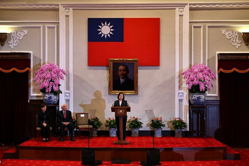 """Taiwan and the US have signed a memorandum of understanding (MOU) to establish annual economic talks, which Taiwanese President Tsai Ing-wen called a """"win-win situation""""."""