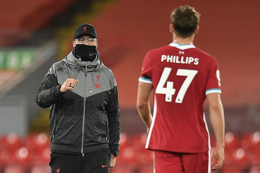 Liverpool manager Jurgen Klopp will be counting on reserve players like Nathaniel Phillips to deputise for injured defenders this season.