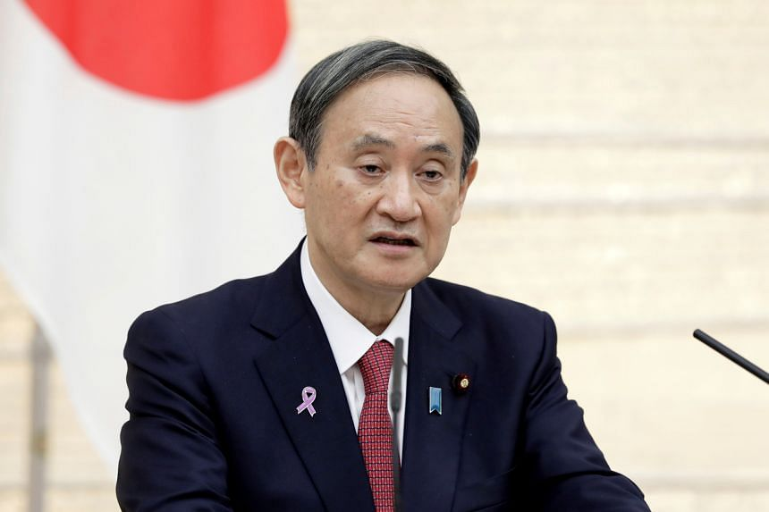 Prime Minister Yoshihide Suga has already declared the country's goal of net-zero emissions by 2050.