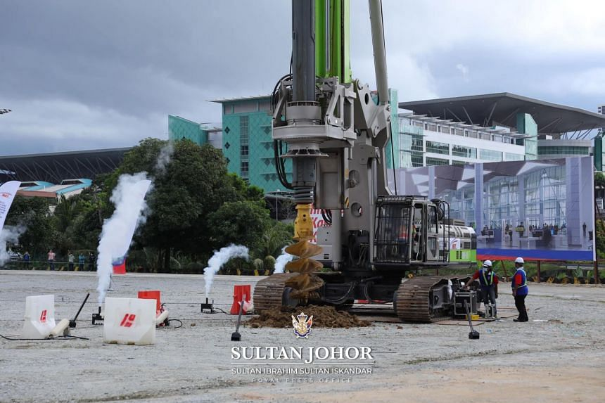 The groundbreaking ceremony marks the start of the construction of the mega project, which covers 4km and is expected to be completed in 2026.