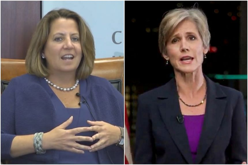 Both Lisa Monaco (left) and Sally Yates have previously held positions that required Senate confirmation.