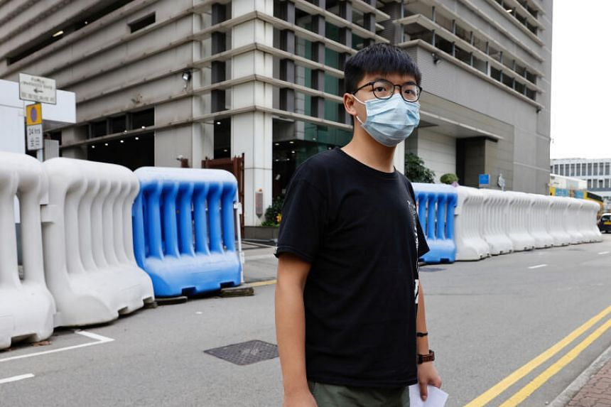 Joshua Wong has faced a slew of charges related to the many months of protests that ravaged Hong Kong.
