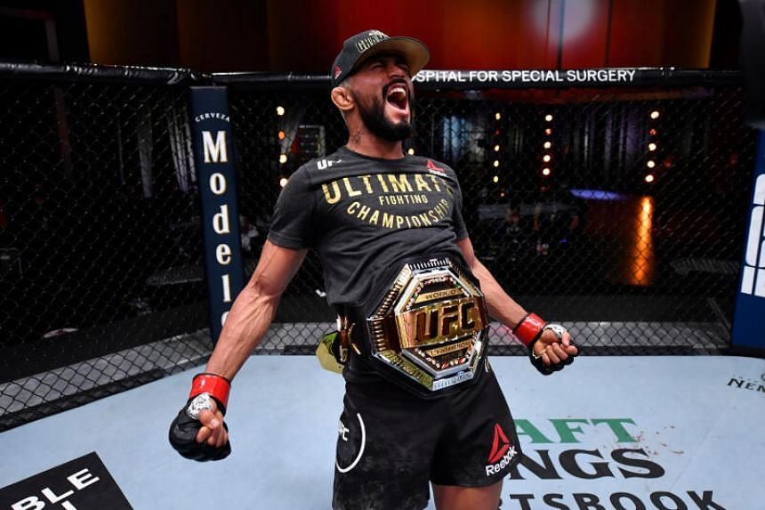 Deiveson Figueiredo is on a five-fight winning streak and is 9-1 in the UFC.