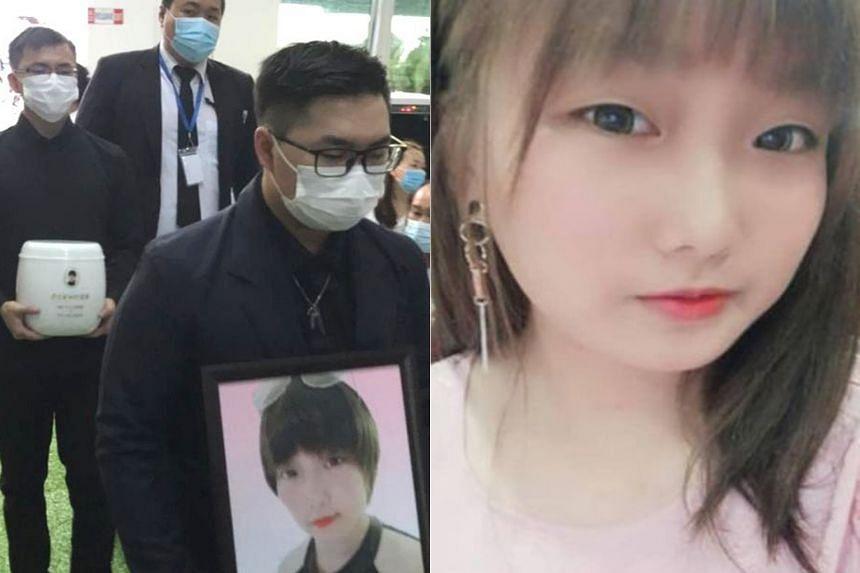 Malaysian student Irene Chung was killed in Taiwan on Oct 29, 2020.