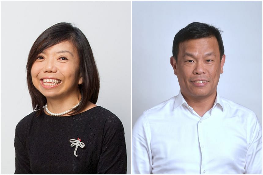 Social entrepreneur Anthea Ong and Singapore Chinese Orchestra executive director Terence Ho are seeking a second term in Parliament.