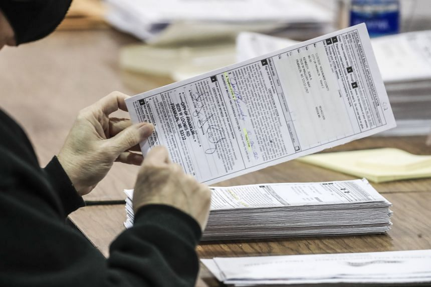 Ms Sidney Powell, without providing evidence, said last week that electronic voting systems had switched millions of ballots to favour US President-elect Joe Biden.