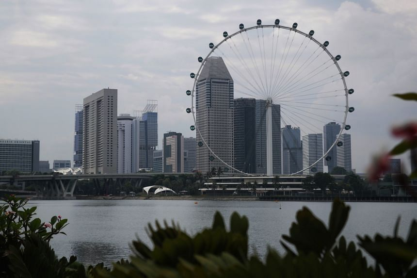 A view of the Singapore skyline on Aug 11, 2020.