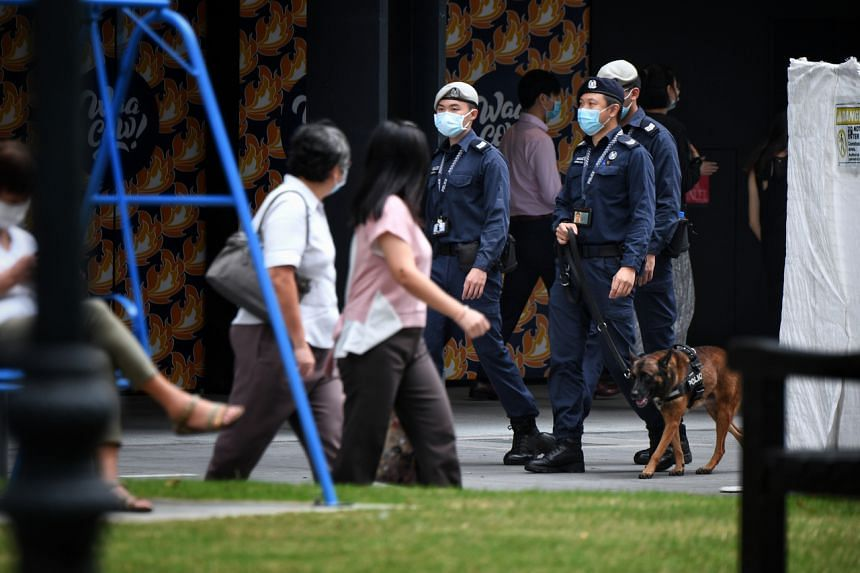 The Home Team has been on heightened security alert since early September, and stepped up security measures to pre-empt copycat attacks in Singapore.