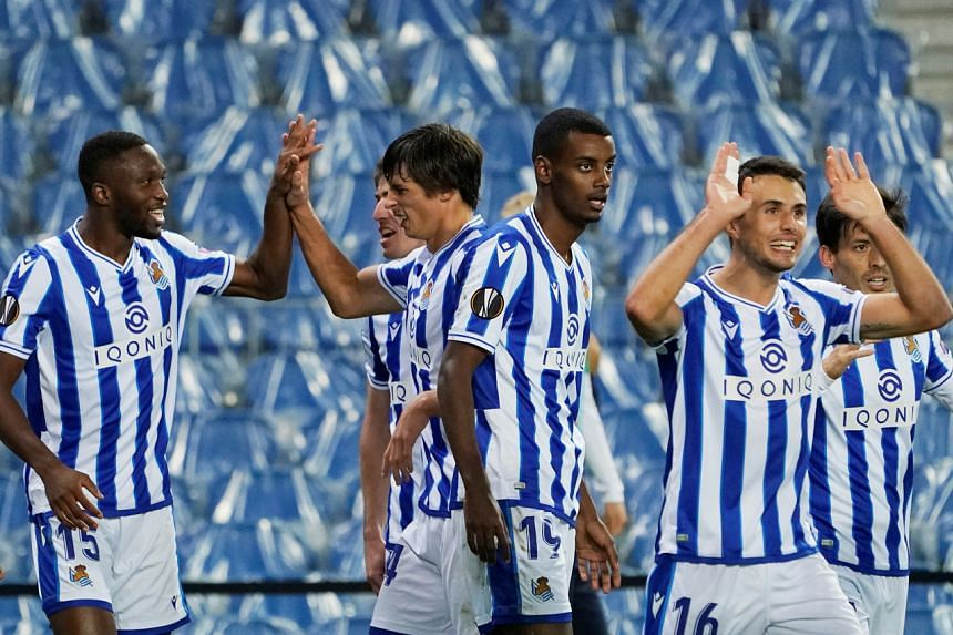 Sociedad are three points ahead of second-placed Atletico Madrid and 12 ahead of Barca.