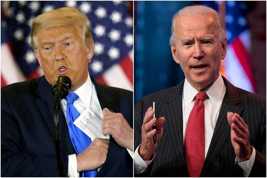 """President Donald Trump tweeted that the General Services Administration should """"do what needs to be done"""" for Mr Joe Biden's transition team."""
