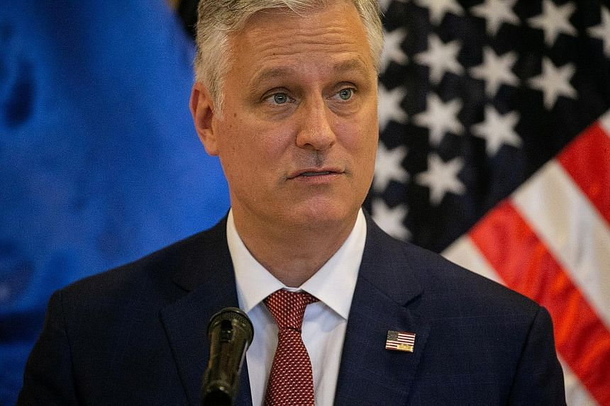 US envoy Robert O'Brien has backed South-east Asian countries in disputes with China.