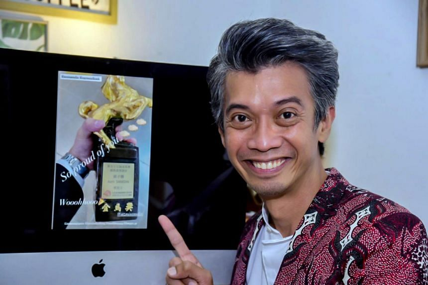 Azni Samdin never considered the Golden Horse Awards - the Oscars of Chinese-language cinema - to be within reach.