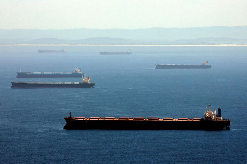 More than 50 vessels have been waiting a month or longer off Chinese ports to offload coal from Australia.