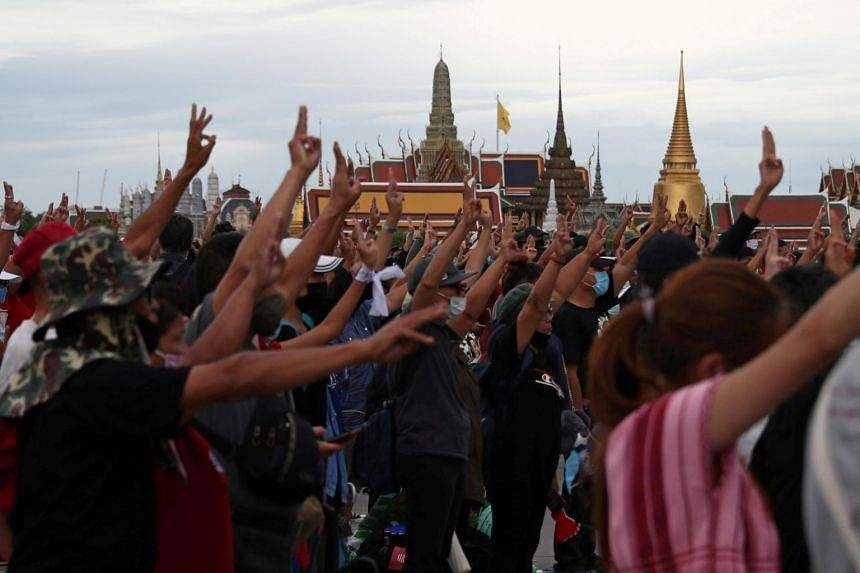 King Vajiralongkorn's wealth has become a key focus for protesters.