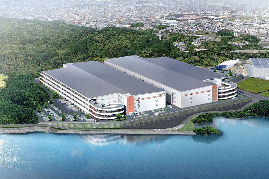 Mapletree Investments says it will develop two blocks of logistics facilities on the site in Fukuoka.