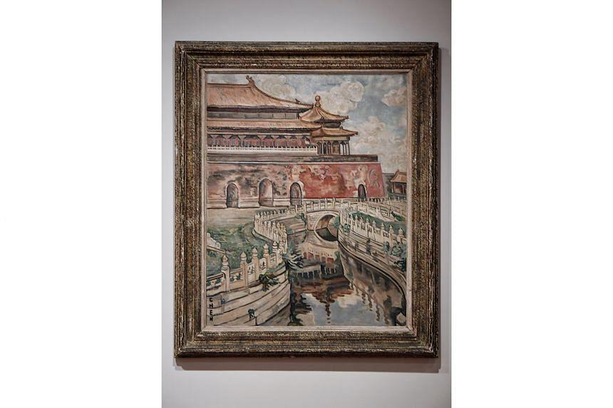 CITYSCAPE OF BEIJING (1945-1949)
