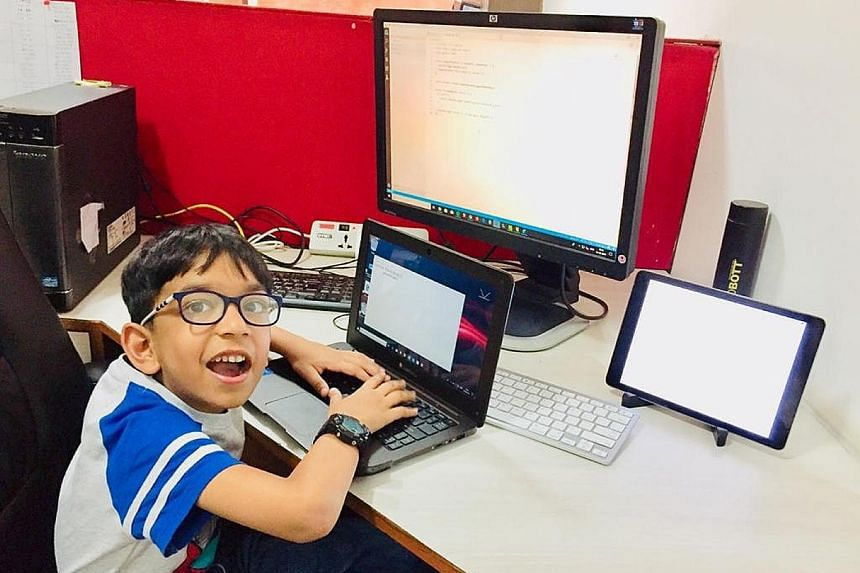 """Arham Talsania cleared a certificate course in Python programming language and earned a mention in the Guinness World Records as the """"youngest computer programmer"""" in January, a day short of turning seven."""