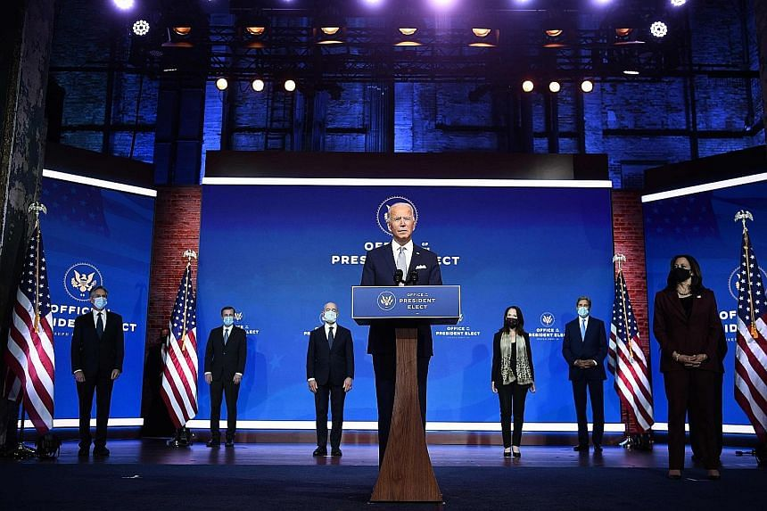 Biden S Picks For Cabinet Signal Shift Away From America First United States News Top Stories The Straits Times