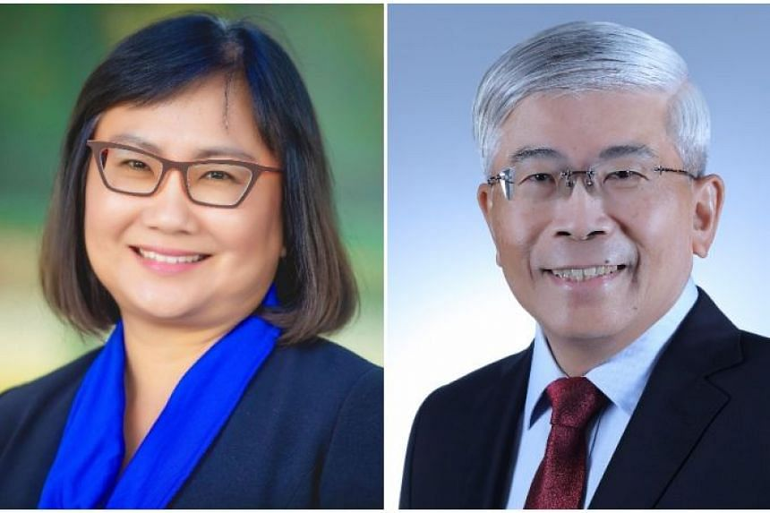 ExxonMobil Asia Pacific director Geraldine Chin will be taking over as chairman and managing director from Mr Gan Seow Kee.