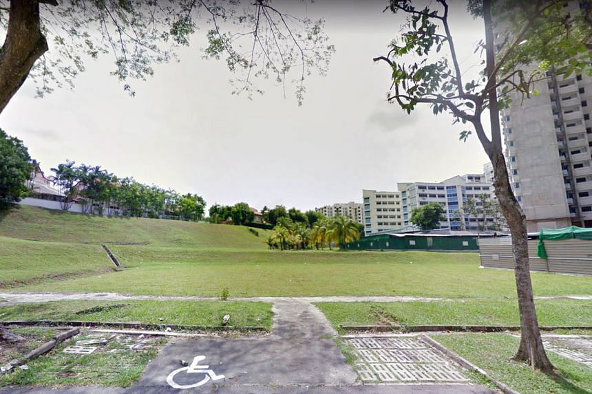 The land parcel in Ang Mo Kio, which is located at Ang Mo Kio Avenue 1.