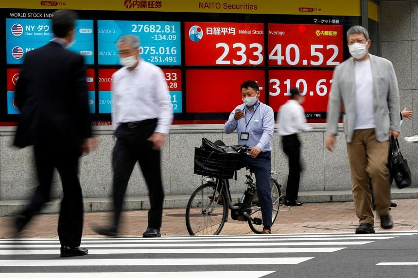 Japan's Nikkei 225 index rose 0.5 per cent and South Korea's Kospi index gained 0.4 per cent.