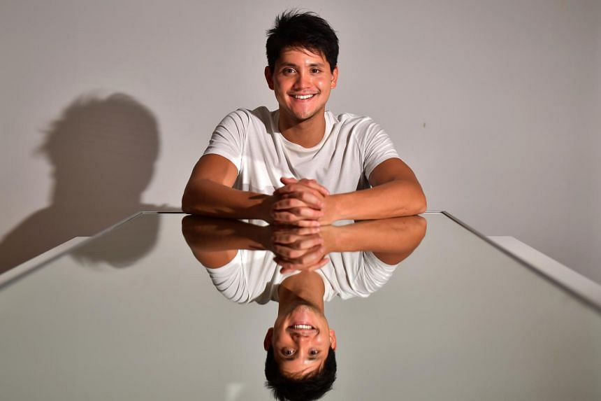 Joseph Schooling said his feat at the 2016 Olympic Games was partly the inspiration behind the app.