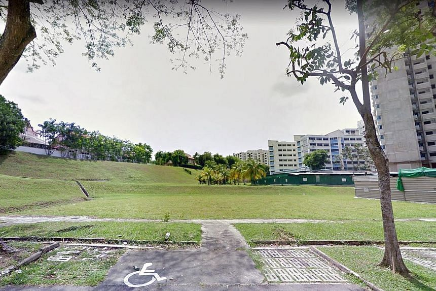 The land parcel in Ang Mo Kio Avenue 1 is estimated to yield around 370 condominium units. The site is in a mature town and an established residential area, and is near the upcoming Mayflower MRT station on the Thomson-East Coast Line. PHOTO: GOOGLE