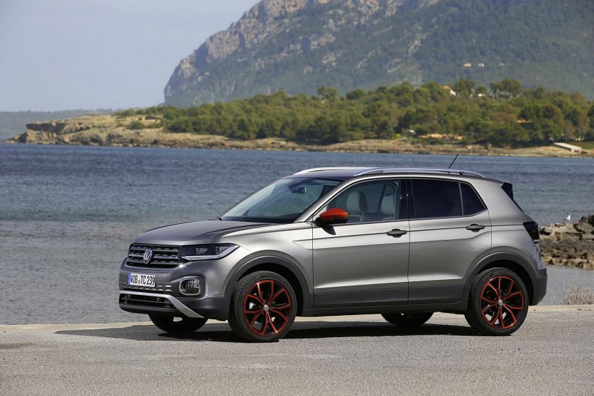 The new Volkswagen T-Cross, powered by a 1-litre three-cylinder turbo here, starts from $128,900.