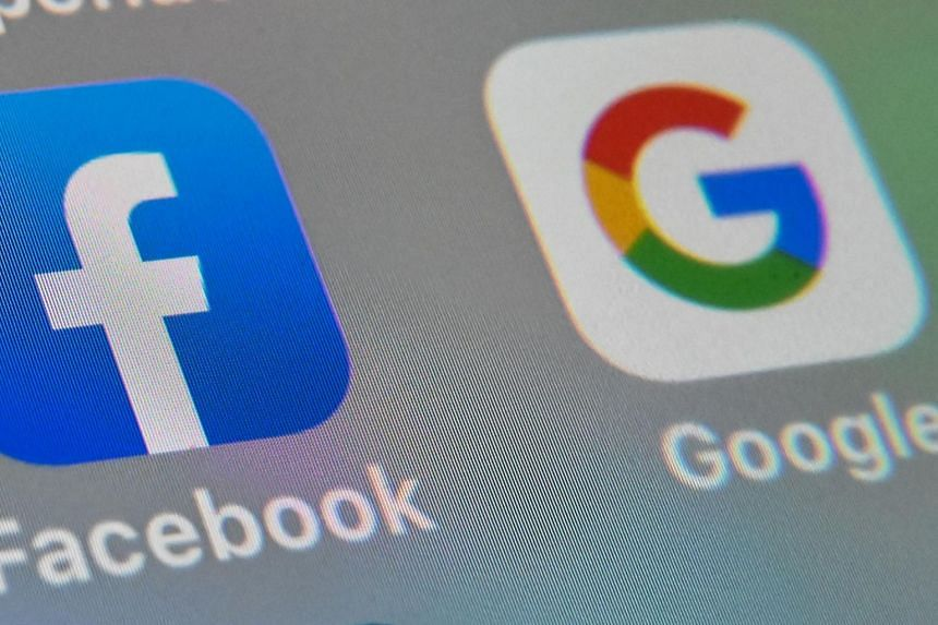 Google and Facebook dominate digital advertising, accounting for around 80 per cent of 14 billion pounds spent in 2019.