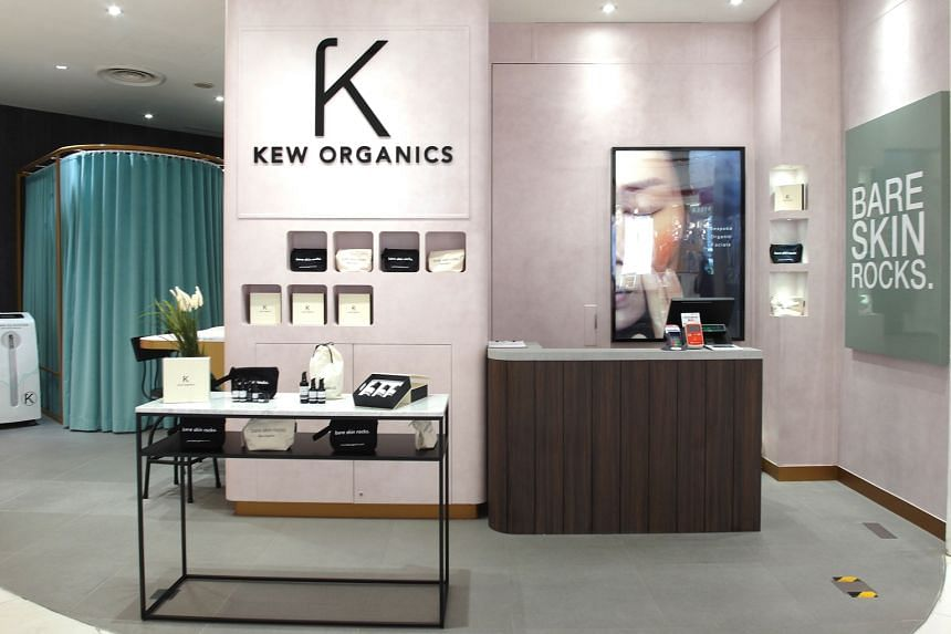 Local organic skincare label Kew Organics has joined Tangs at Tang Plaza's roster of beauty brands, with a new retail-and-treatment hybrid boutique (above).