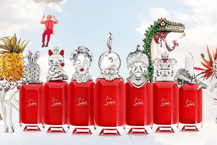 Christian Louboutin Beauty has unveiled its first fragrance collection Loubiworld (above), comprising seven luxurious perfumes created in partnership with illustrator Helene Tran and seven perfumers.
